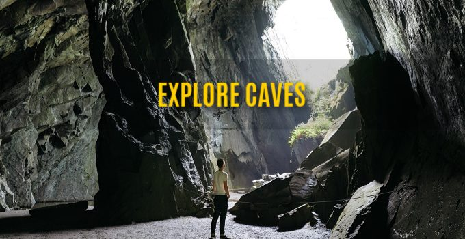 Exploring Caves In Costa Rica