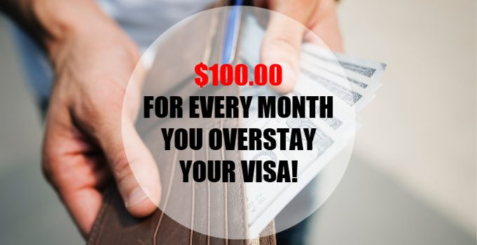 Do Not Overstay Your Costa Rica Visa